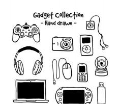 手绘数码产品