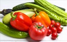 瓜果蔬菜番茄苦瓜辣椒