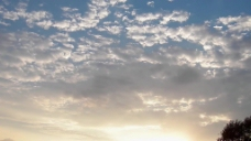 斑驳云彩天空视频