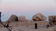 自然风景石头视频