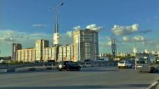 建筑城市河流视频