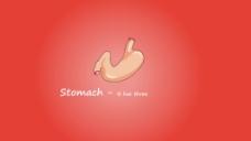 肠胃动画视频素材