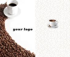 咖啡豆名片设计