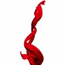 红丝带png元素
