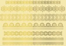 金色创意装饰图案素材
