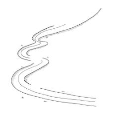 手绘个性线条png元素