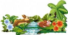 松鼠动物插画