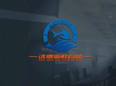 海鲜图形商标logo设计