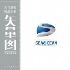 海洋国际物流运输标志LOGO
