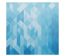 蓝色几何矢量背景