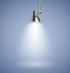 亮起的金属灯