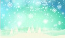 北欧圣诞背景