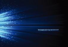 蓝色星光科技感背景素材