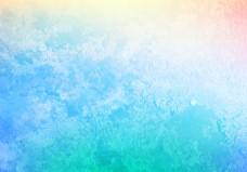 唯美水彩渐变纹理素材