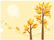 秋天矢量装饰图案