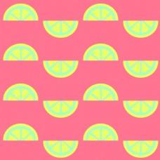 甜蜜水果夏日可爱扁平手绘素材