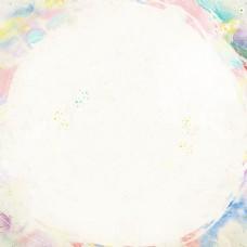 小清新水彩笔刷喷溅手绘主图背景