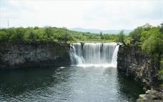 牡丹江镜泊湖吊水楼瀑布