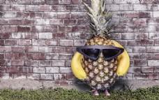 香蕉凤梨另类水果