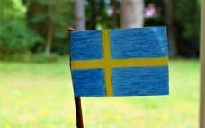 手工瑞典国旗