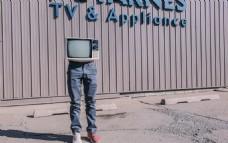 创意复古电视机