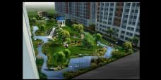 小区建设园林效果图