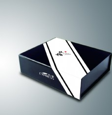 翻盖包装盒(内含展开图)