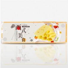 淘宝美食奶酪全屏海报PSD模版