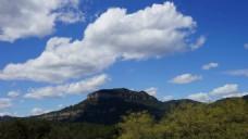 云彩阴影自然风景视频