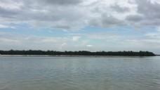 河流天空视频素材