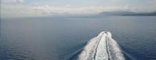 海上航行波纹视频