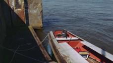 海上渔船视频素材