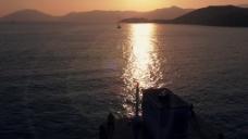 黄昏湖面视频