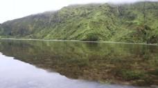 水面倒影风景视频