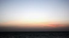黄昏天空视频素材
