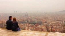 建筑城市风景视频
