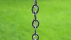 绿色背景锁链视频