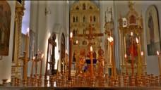 教堂蜡烛视频素材