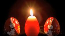 蜡烛燃烧彩蛋视频
