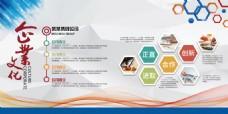 企业文化宣传展板设计PSD