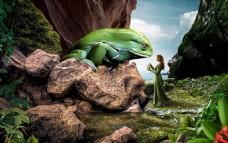 合成童话青蛙王子
