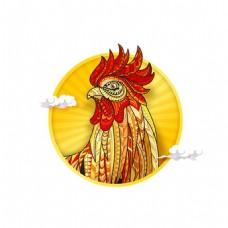 鸡头像png免扣元素