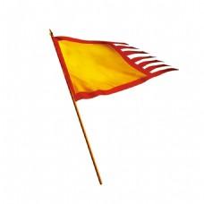 古代旗帜png透明元素