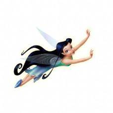 卡通美女飞翔png元素