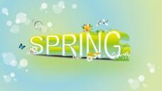 春天装饰字