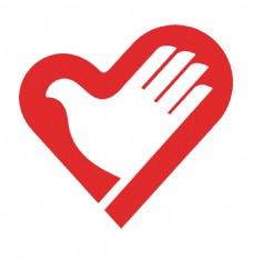 志愿者标志心手标心形手形