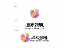 花园LOGO字体设计
