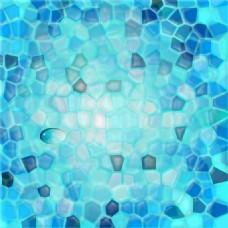 蓝色石块滤镜纹理