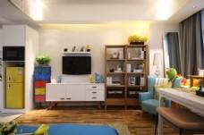 现代简约家居装修效果图