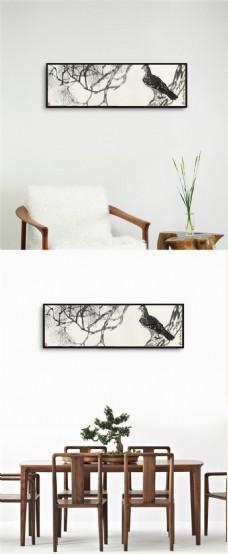 简约鸟装饰画下载